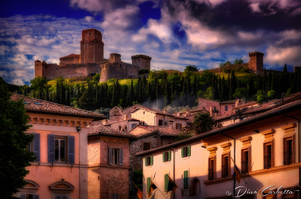&ldquo;Rocca Maggiore protects high above Assisi&rdquo;&hellip;<br />
