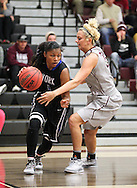 November 15, 2014: The York College Panthers play against the Oklahoma Christian University Lady Eagles in the Eagles Nest on the campus of Oklahoma Christian University.