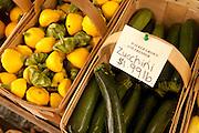 Vegetables for sale, Walker's Roadside Stand, Little Compton, Rhode Island.