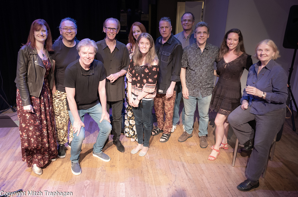 Artists Without Walls June 2018 Showcase at the cell theatre, Manhattan, New York City. June 26, 2018.