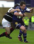26/05/2002.Sport -Rugby Union - Parker Pen Shield Final.Sale vs Pontypridd..Charl Marius   [Mandatory Credit, Peter Spurier/ Intersport Images].