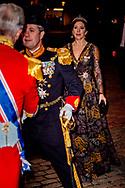 1-1-2019 - COPENHAGEN - Crownprince Frederik and Crownprincess Mary of Denmark arrive at the annual New Years reception in Amalienborg Palace in Copenhagen, Denmark , Danish royal family attend New Years reception 2019 COPYRIGHT ROBIN UTRECHT<br /> 2019/01/01 - KOPENHAGEN - Kroonprins Frederik en kroonprinses Mary van Denemarken aankomt op de jaarlijkse nieuwjaarsreceptie in Amalienborg in Kopenhagen, Denemarken, de Deense koninklijke familie wonen Nieuwjaarsreceptie 2019 COPYRIGHT ROBIN UTRECHT