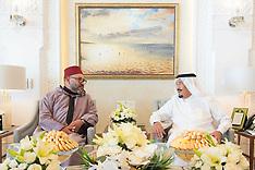 Tangiers: KIng Of Morocco Visits King Of Saudi Arabia - 15 Aug 2017