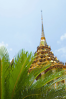 Stupa and palm trees Wat Phra Kaew/ near Royal Grand Palace Bangkok Thailand&#xA;<br />