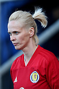 Shelley Kerr, manager of Scotland, during the FIFA Women's World Cup UEFA Qualifier match between Scotland Women and Belarus Women at Falkirk Stadium, Falkirk, Scotland on 7 June 2018. Picture by Craig Doyle.
