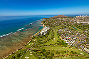 Waialae Golf Course, Kahala, Honolulu, Oahu, Hawaii