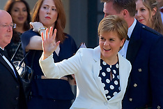 VIPs arrive for Barack Obama speech | Edinburgh | 26 May 2017