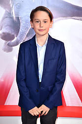 Finley Hobbins attending the European premiere of Dumbo held at Curzon Mayfair, London.