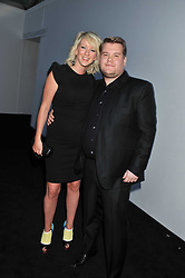 JAMES CORDEN and JULIA CAREY at the Glamour Women of The Year Awards 2011 held in Berkeley Square, London W1 on 7th June 2011.