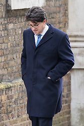 Downing Street, London, March 8th 2016.Conservative Party Chairman Lord Feldman arrives for the weekly UK cabinet meeting at Downing Street. ©Paul Davey<br /> FOR LICENCING CONTACT: Paul Davey +44 (0) 7966 016 296 paul@pauldaveycreative.co.uk