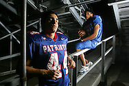 Photo by Alex Jones..Mission Veterans Memorial Patriots: #44 Jobim Zapico, #6 Eddie Tovar