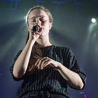 Glasgow, Scotland, UK. 7th November, 2018. Sigrid in concert at The O2 Acedemy, Glasgow Great, UK. Credit: Stuart Westwood/Alamy Live News