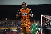 David Meyler in action during the Sky Bet Championship match between Brentford and Hull City at Griffin Park, London, England on 3 November 2015. Photo by Michael Hulf.