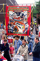 Leeds Branch ASLEF banner, Miners Gala Wakefield