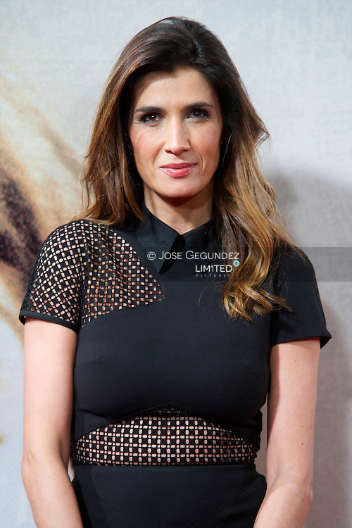 Elia Galera attends 'Venuto Al Mondo' Premiere at Capitol Cinema in Madrid