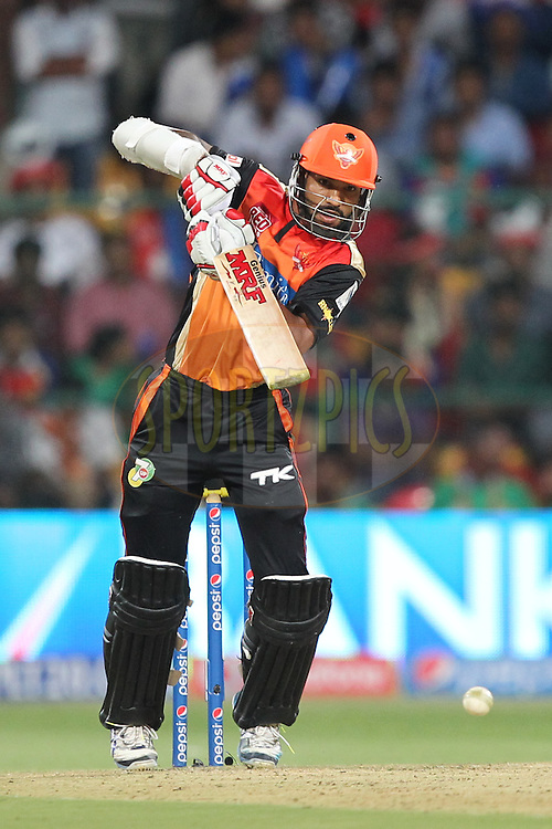 Shikhar Dhawan Captain of the Sunrisers Hyderabad during match 24 of the Pepsi Indian Premier League Season 2014 between the Royal Challengers Bangalore and the Sunrisers Hyderabad held at the M. Chinnaswamy Stadium, Bangalore, India on the 4th May  2014Photo by Prashant Bhoot / IPL / SPORTZPICSImage use subject to terms and conditions which can be found here:  http://sportzpics.photoshelter.com/gallery/Pepsi-IPL-Image-terms-and-conditions/G00004VW1IVJ.gB0/C0000TScjhBM6ikg