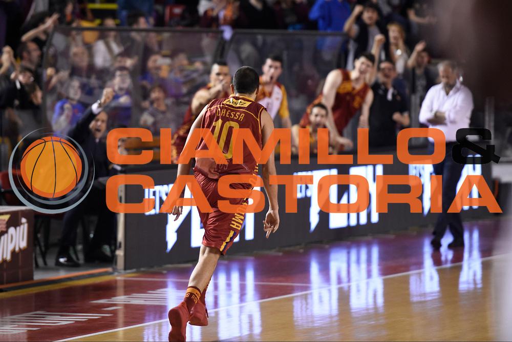 Massimo Chessa<br /> Roma Gas &amp; Power Roma - Unicusano Roma<br /> Campionato Basket LNP 2016/2017<br /> Roma 12/03/2017<br /> Foto Ciamillo-Castoria