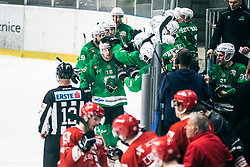 MUŠIČ Aleš of HDD Olimpija during 500th derbi between HK SZ Olimpija Ljubljana vs HDD SIJ Acroni Jesenice  - AHL 2019/20, on the 26th of  Oktober, Ljubljana, Slovenia. Photo by Matic Ritonja / Sportida