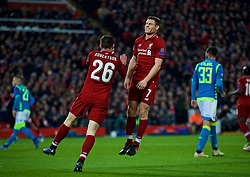 LIVERPOOL, ENGLAND - Tuesday, December 11, 2018: Liverpool's captain James Milner looks dejected after missing a chance during the UEFA Champions League Group C match between Liverpool FC and SSC Napoli at Anfield. (Pic by David Rawcliffe/Propaganda)