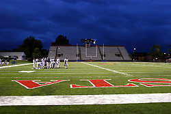 24 Aug 2007: Ridgeview Mustangs v V Tremont Turks.  THe Turks held Ridgeview scoreless until mid way through the 3rd quarter, having scored 9 points themselves.  The Mustangs came back to win 10 to 9 on a missed field goal attempt by the Turks at the final buzzer. Game was played at Hancock Stadium on the campus of Illinois State University in Normal, Illinois