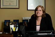 Marianne Warren photographed at her office in Athens, Texas on January 9, 2014. (Cooper Neill / for The Texas Tribune)