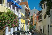 Street view in San Juan west
