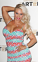HAMMERSMITH - JULY 19: Coco Austin attended the European Premiere of 'Something from Nothing: The Art of Rap' at the Hammersmith Apollo, London, UK. July 19, 2012. (Photo by Richard Goldschmidt)