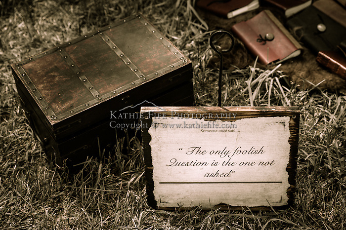 &quot;Someone once said... The only foolish question, is the one not asked.&quot; <br />