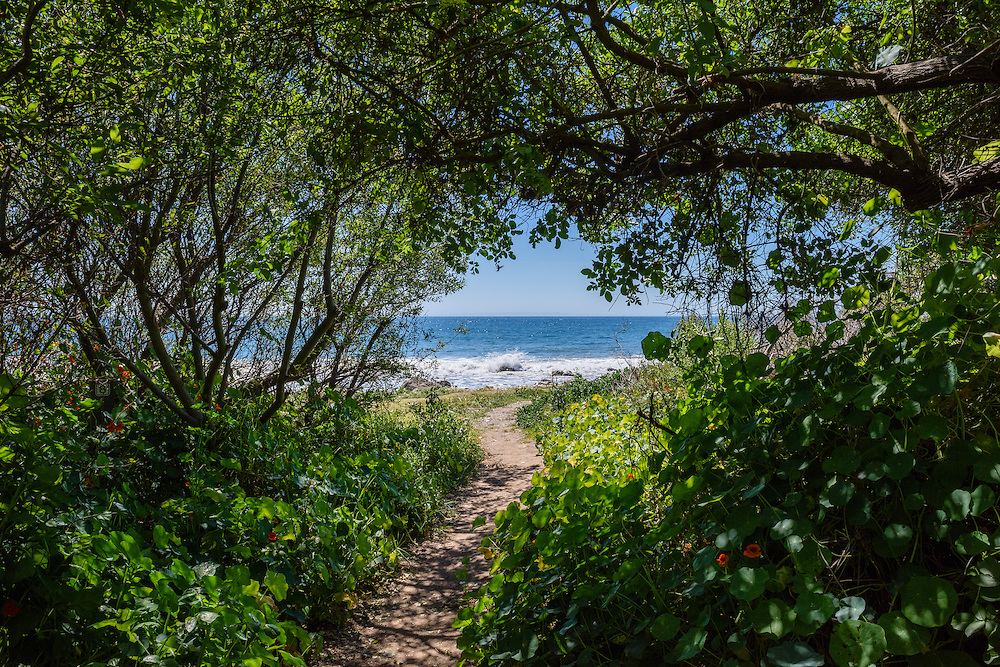 El Capitán State Beach is a protected beach in the state park system of California. It is located about 20 miles west of downtown Santa Barbara. CA