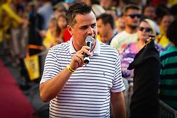 during sprejem Tima Gajsreja, on Avgust 27, 2019 in Maribor, Slovenia. Photo by Blaž Weindorfer / Sportida
