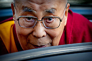 15-9-2018 ROTTERDAM - The Dalai Lama in Rotterdam . The 83-year-old Dalai Lama will be in the Netherlands for four days, before heading to Germany.ROBIN UTRECHT