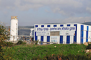 Israel, Coastal Plains, Atlit. Brackish water desalinisation plant