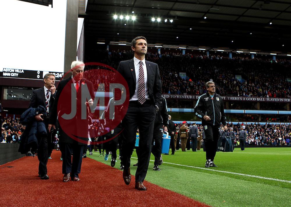 - Mandatory byline: Robbie Stephenson/JMP - 07966 386802 - 08/11/2015 - FOOTBALL - Villa Park - Birmingham, England - Aston Villa v Manchester City - Barclays Premier League