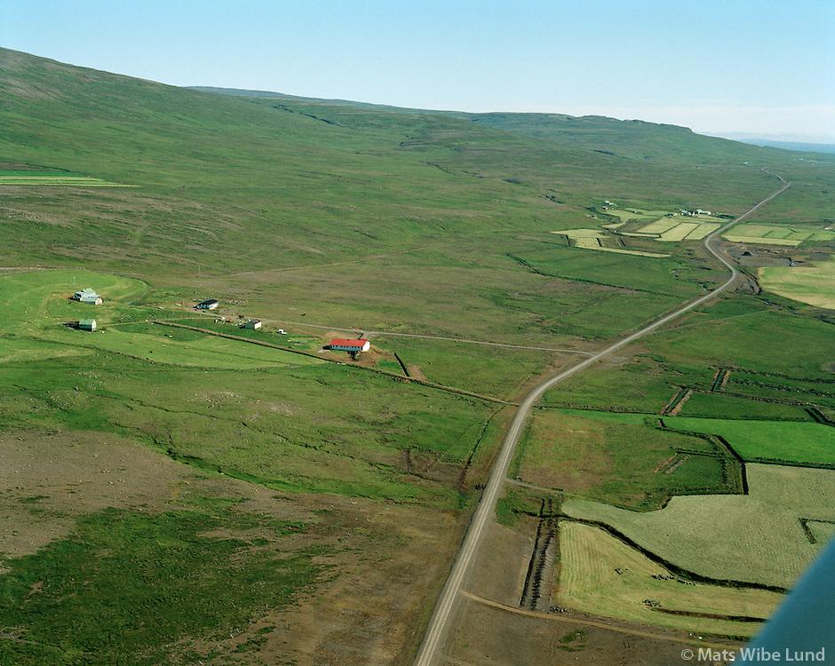 Valþúfa séð til austurs, Dalabyggð áður Fellsstrandarhreppur, Valthufa viewing east, Dalabyggd former Fellsstrandarhreppur