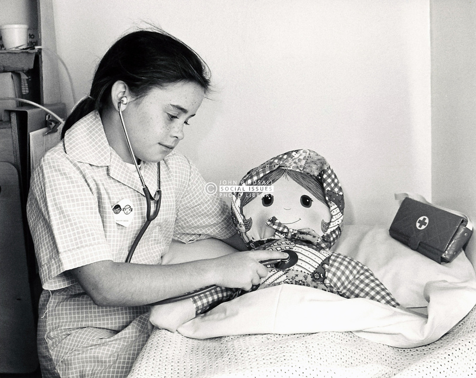 Papplewick children's ward, City Hospital, Nottingham UK August 1989