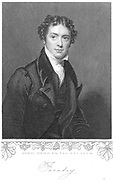 Michael Faraday (1791-1867) English chemist and physicist. Engraving after the portrait by Henry William Pickersgill (1782-1875).