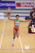Patricia Mamona (Portugal), Women's Triple Jump, during the European Athletics Indoor Championships at Emirates Arena, Glasgow, United Kingdom on 3 March 2019.