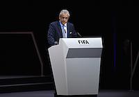 Fussball International Ausserordentlicher FIFA Kongress 2016 im Hallenstadion in Zuerich 26.02.2016 FIFA Vizepraesident  und AFC Presedent Scheich Salman Bin Ibrahim al Khalifa (Bahrain)