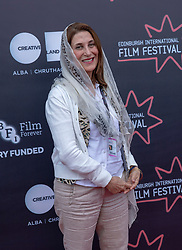 Judges photocall at Edinburgh International Film Festival<br /> <br /> Pictured: Simin Motamed-Arya, Actor (International Jury)