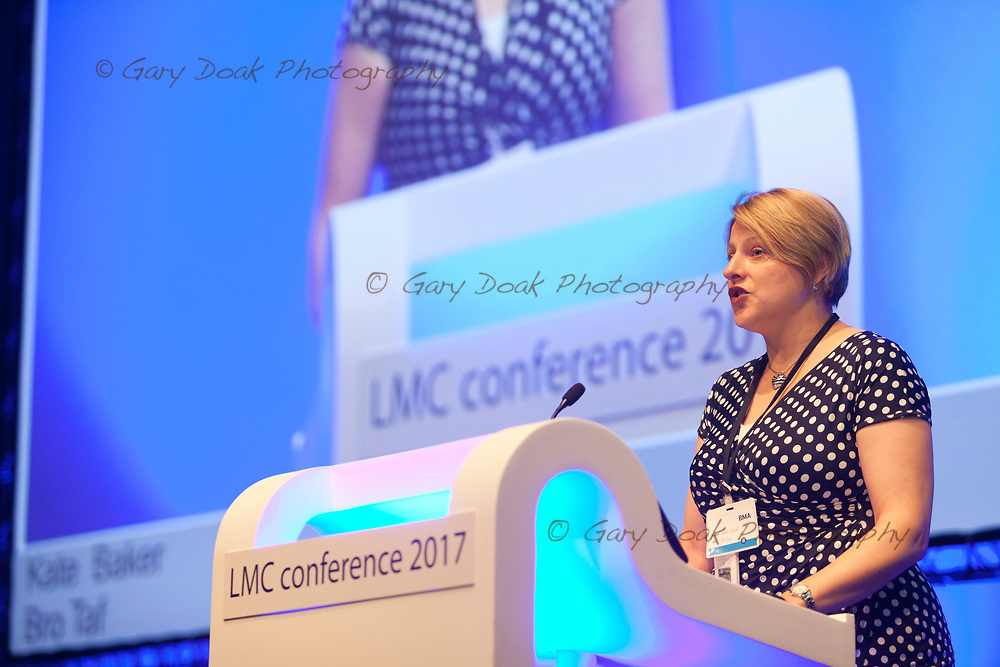 Kate Baker<br /> BMA LMC's Conference<br /> EICC, Edinburgh<br /> <br /> 18th May 2017<br /> <br /> Picture by Gary Doak