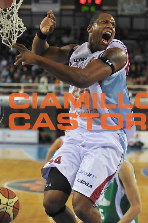 DESCRIZIONE : Rieti Lega A1 2008-09 Solsonica Rieti Air Avellino<br /> GIOCATORE : Pervis Pasco<br /> SQUADRA : Solsonica Rieti <br /> EVENTO : Campionato Lega A1 2008-2009 <br /> GARA : Solsonica Rieti Air Avellino<br /> DATA : 01/02/2009<br /> CATEGORIA : Esultanza<br /> SPORT : Pallacanestro <br /> AUTORE : Agenzia Ciamillo-Castoria/E.Grillotti