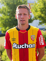 Clement Chantome during photoshooting of RC Lens for new season 2017/2018 on October 5, 2017 in Lens, France<br /> Photo by RC Lens / Icon Sport