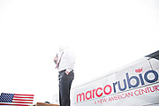 LARGO, FL - MARCH 12, 2016:  <br /> <br /> Marco Rubio takes the stage at the Pinellas County Rally with Marco Rubio, Saturday, March 12, 2016.<br /> <br /> (Melissa Lyttle for The Wall Street Journal)