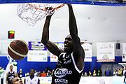 DESCRIZIONE : Capo dOrlando Lega A 2014-15 Orlandina Basket Granarolo Virtus Bologna<br /> GIOCATORE : OKARO WHITE<br /> CATEGORIA : SCHIACCIATA<br /> SQUADRA : Orlandina Basket<br /> EVENTO : Campionato Lega A 2014-2015 <br /> GARA : Orlandina Basket Granarolo Virtus Bologna<br /> DATA : 01/02/2015<br /> SPORT : Pallacanestro <br /> AUTORE : Agenzia Ciamillo-Castoria/G.Pappalardo<br /> Galleria : Lega Basket A 2014-2015<br /> Fotonotizia : Capo dOrlando Lega A 2014-15 Orlandina Basket Granarolo Virtus Bologna