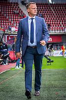 ALKMAAR - 28-07-2016, AZ - PAS Giannina, AFAS Stadion, 1-0, AZ trainer John van den Brom, Cavallaro Napoli.