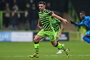 Forest Green Rovers Liam Shephard(2) during the The FA Cup match between Forest Green Rovers and Billericay Town at the New Lawn, Forest Green, United Kingdom on 9 November 2019.