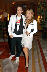 JADE JAGGER and DAN WILLIAMS at a party to celebrate the opening of The Bar at The Dorchester, Park Lane, London on 27th June 2006.<br /><br />NON EXCLUSIVE - WORLD RIGHTS
