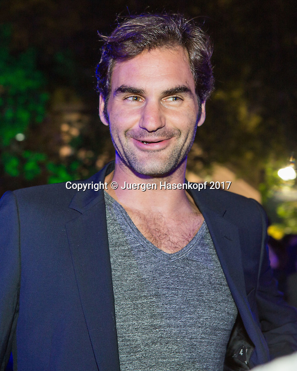 ROGER FEDERER (SUI), Players Party<br /> <br /> Tennis - Dubai Duty Free Tennis Championships - ATP -  Players Party - Dubai -  - United Arab Emirates  - 28 February 2017. <br /> &copy; Juergen Hasenkopf