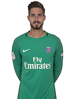 Kevin Trapp of PSG during PSG photo call for the 2016-2017 Ligue 1 season on September, 7 2016 in Paris, France<br /> Photo : C.Gavelle/ PSG / Icon Sport