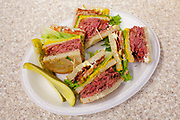Pastrami Club Sandwich at Hershel's Eastside Deli ($11.75)
